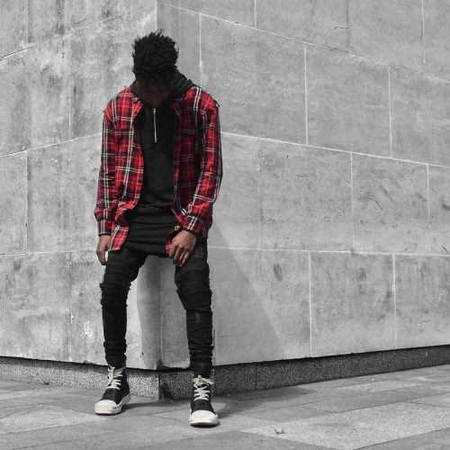 Flannel Outfit Ideas for Men (8)
