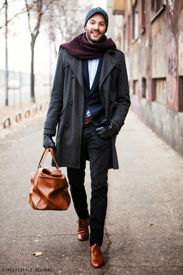 How to wear brown shoes with black pants for men (7)