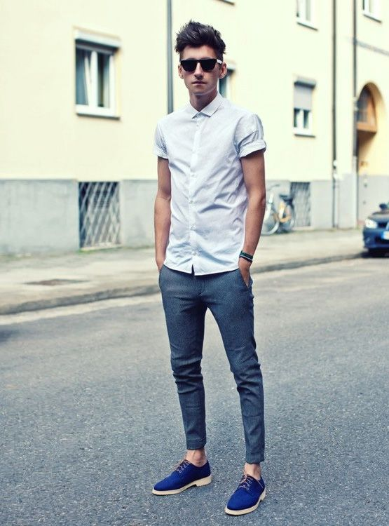 how to wear blue jeans for men (2)