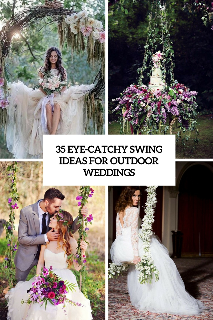 eye catchy swing ideas for outdoor weddings cover