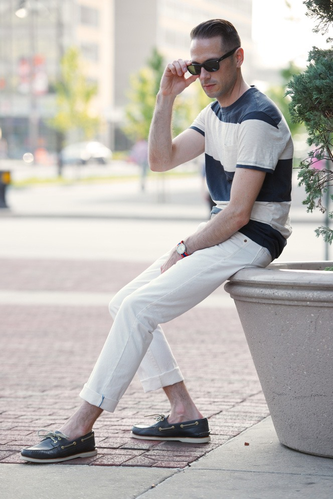 how to wear white jeans for men (18)