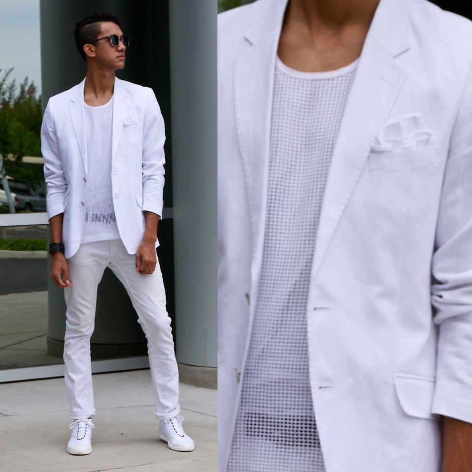 how to wear white jeans for men (12)
