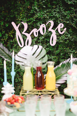Laser cut bridal shower details | Jessilynn Wong Photography