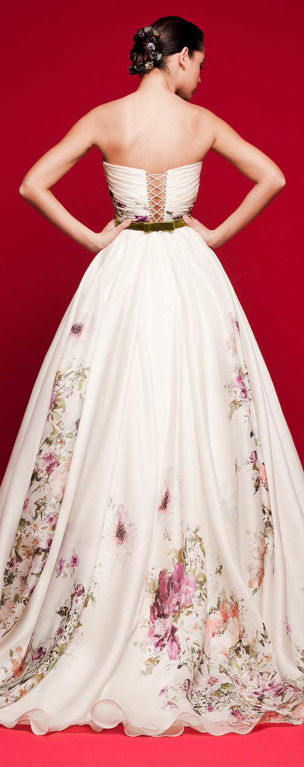 Floral Wedding Dress - Daalarna 2018 Love Story Bridal Collection