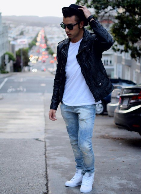 how to wear blue jeans for men (14)