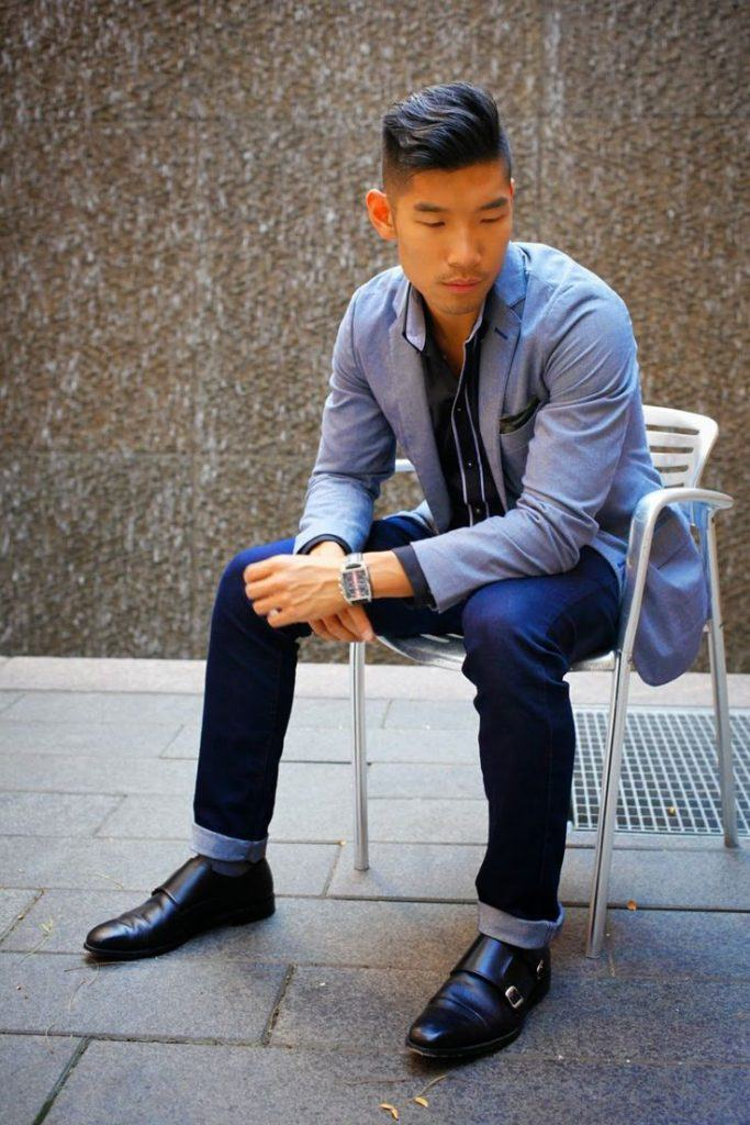 how to wear monk strap shoes for men (7)