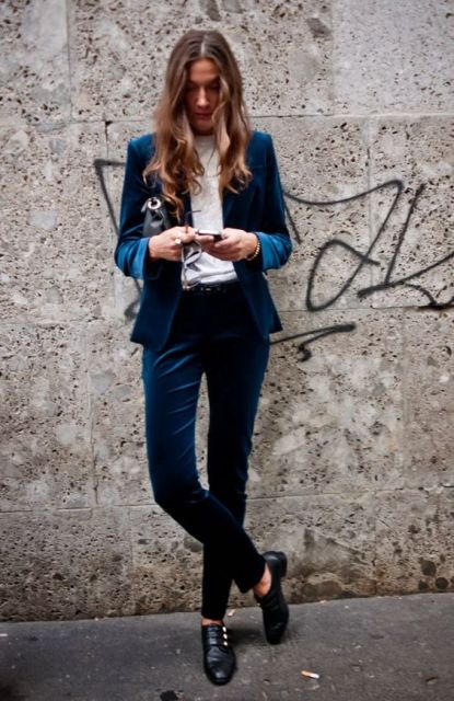 How to wear monk strap shoes for women (18)