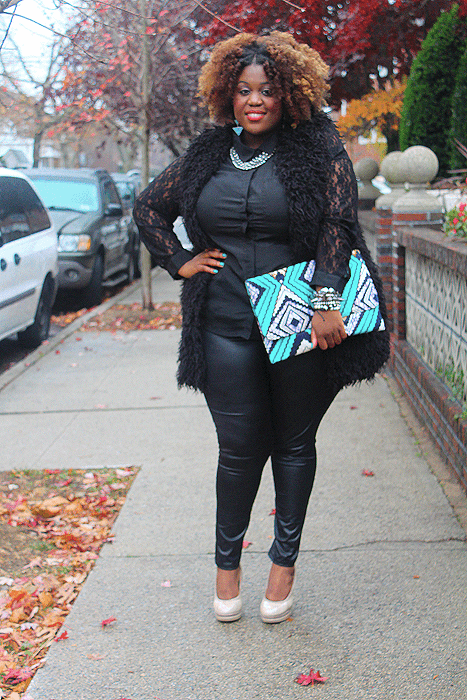 Leggings Outfits For Plus size Ladies