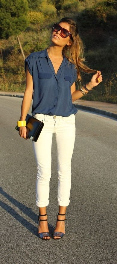 20 Best Pinroll Jeans Outfits for Women (23)