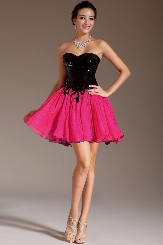 how to wear hot pink skirts (8)
