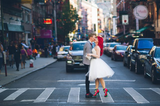This couple was inspired by their love to travel and food, and their wedding reflected them very well