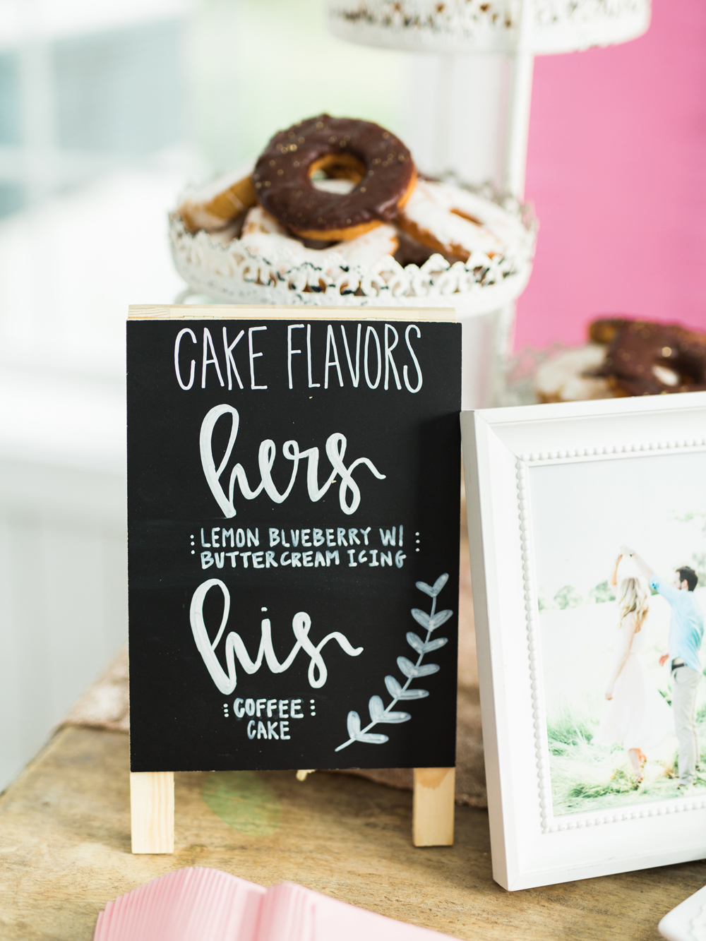 wedding cake flavors - photo by Elisabeth Carol Photography http://ruffledblog.com/picturesque-garden-wedding-at-white-sparrow-barn