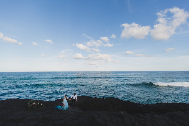 Edgy indie beach wedding in NSW, Australia | Just For Love Photography
