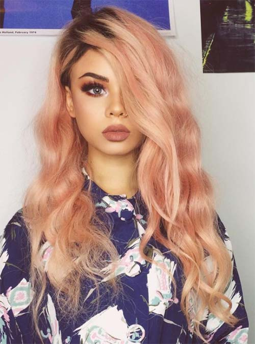 Blorange Hair Color, Cut and Styling Ideas (13)