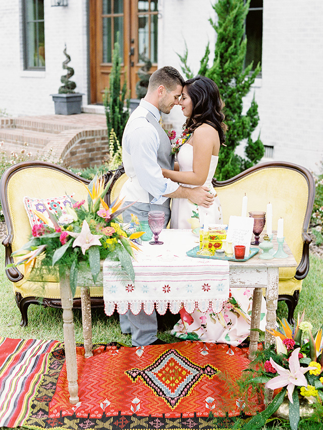 Mexican themed elopement wedding | Casey Rose Photography