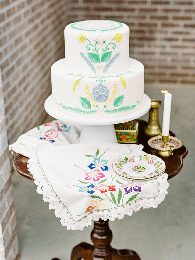 Mexican themed cake | Casey Rose Photography