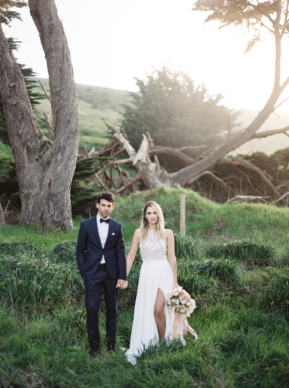 Romantic Coastal California Wedding Inspiration - photo by Tyler Rye Photography http://ruffledblog.com/romantic-coastal-california-wedding-inspiration