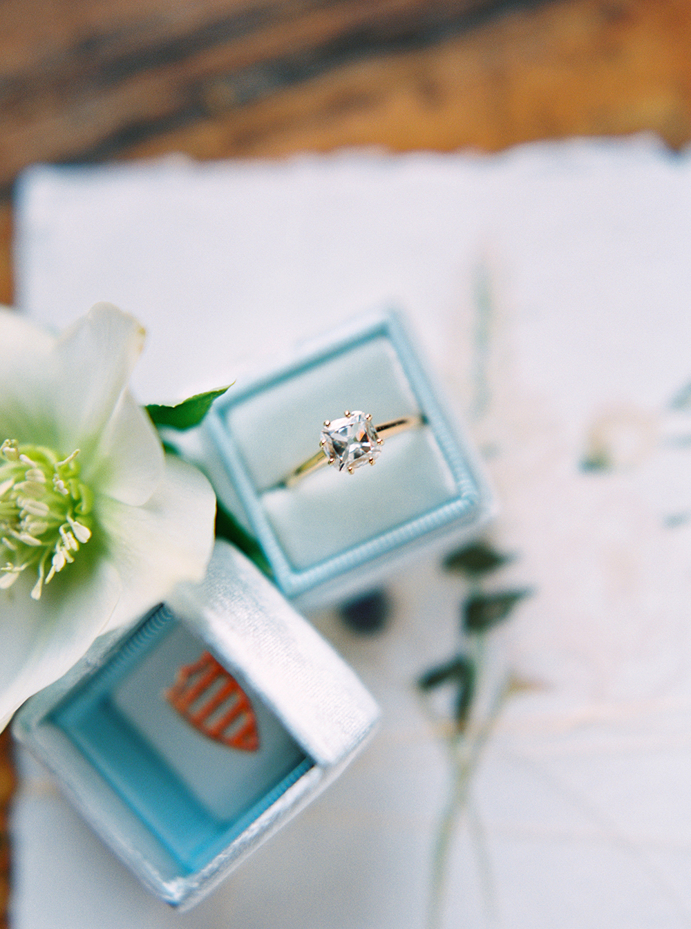 engagement rings - photo by Photos by Heart http://ruffledblog.com/downtown-birmingham-spring-wedding-inspiration