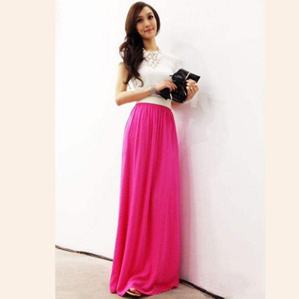 how to wear hot pink skirts (28)