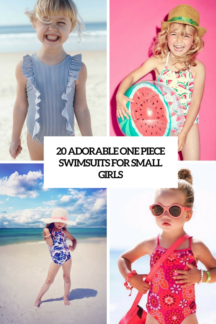 adorable one piece swimsuits for small girls cover