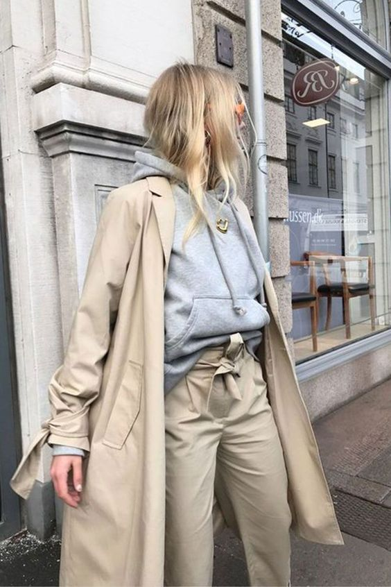 Wearing Khakis Like Parisian