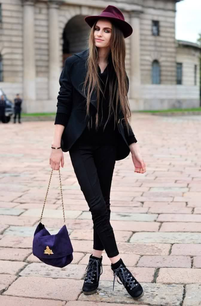 Outfits with Velvet Handbags (20)