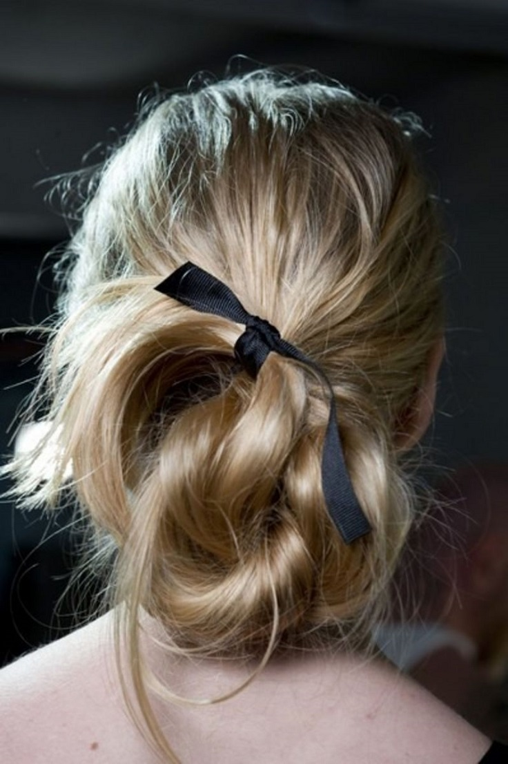Top 10 Super Easy Ribbon Hairstyles You Are Going to Love