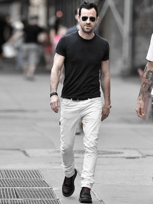 how to wear white jeans for men (19)