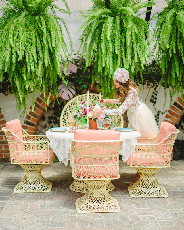 Palm Springs inspired tablescape | Jessilynn Wong Photography