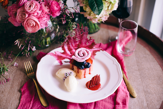 Food styling for wedding | Katie Hillary Photography