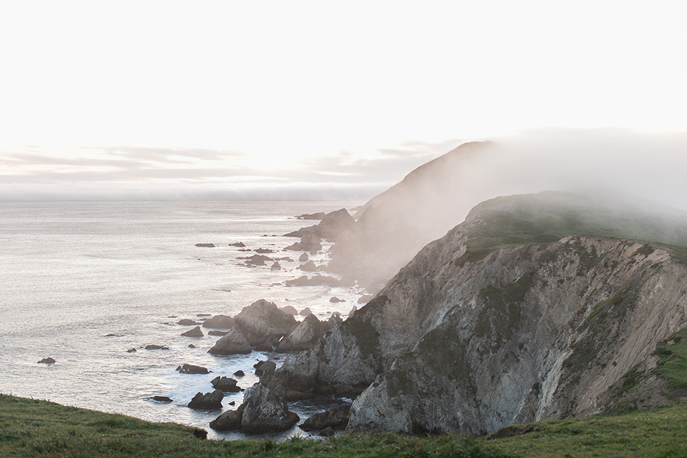 Point Reyes weddings - photo by Tyler Rye Photography http://ruffledblog.com/romantic-coastal-california-wedding-inspiration