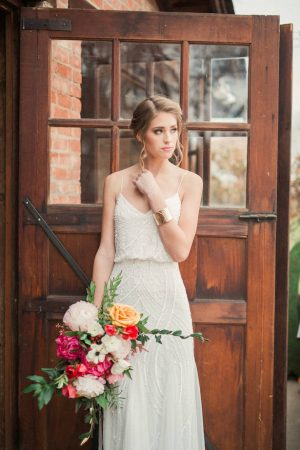 Summer Bridal Look - Gideon Photography