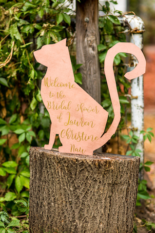 Cat themed bridal shower | Kristopher Lindsay Photography + Milk Glass Productions