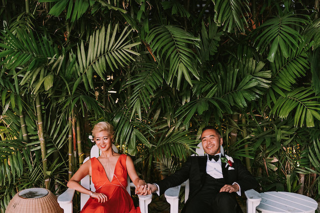 Edgy wedding at The Modern Honolulu | Seeking Films