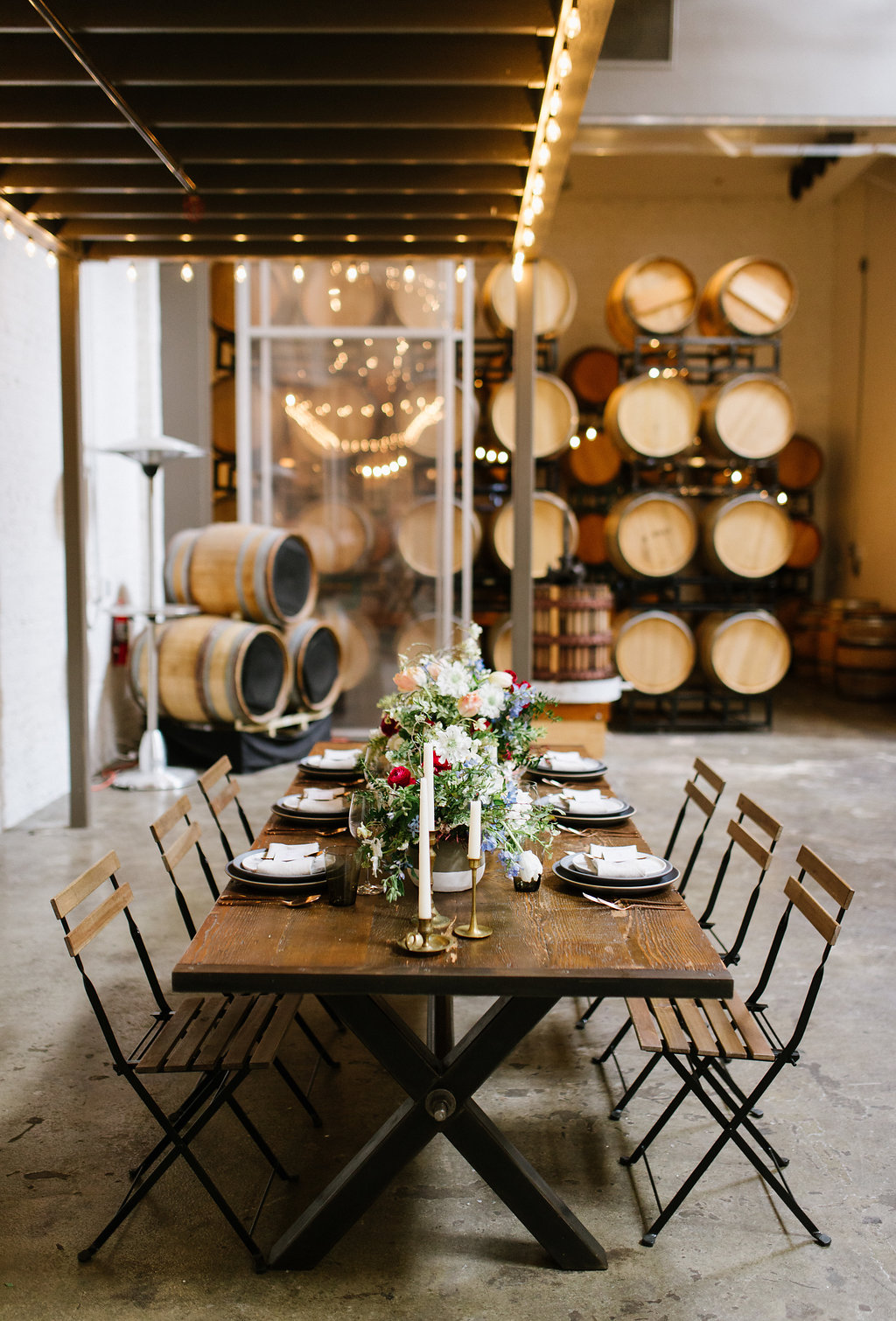 winery weddings - photo by Chelsea Dier Photography http://ruffledblog.com/modern-san-francisco-winery-elopement