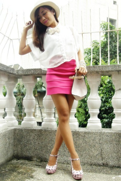 how to wear hot pink skirts (29)