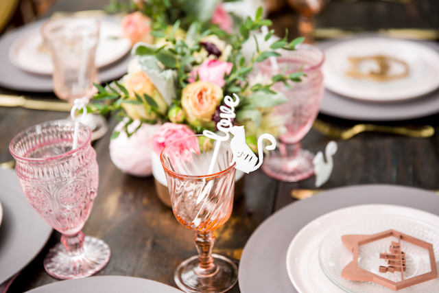 Laser cut drink stirs | Kristopher Lindsay Photography + Milk Glass Productions