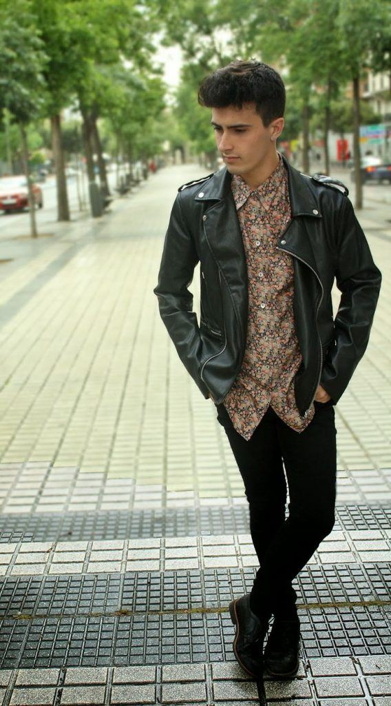 how to wear a floral shirt outfit for men (4)