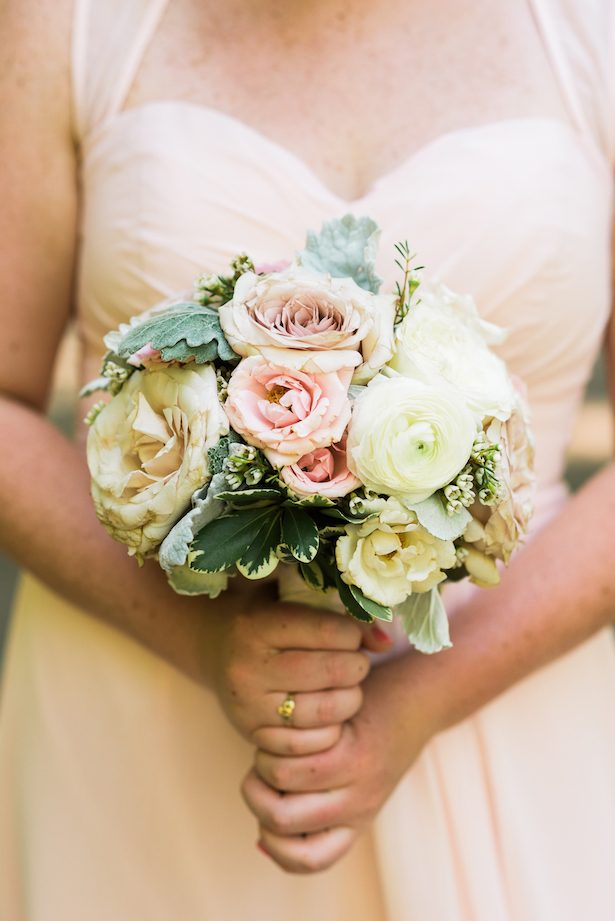 Pink and white wedding bouquet - Katie Whitcomb Photographers