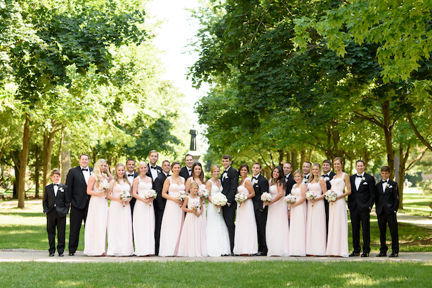 Wedding party picture - Katie Whitcomb Photographers