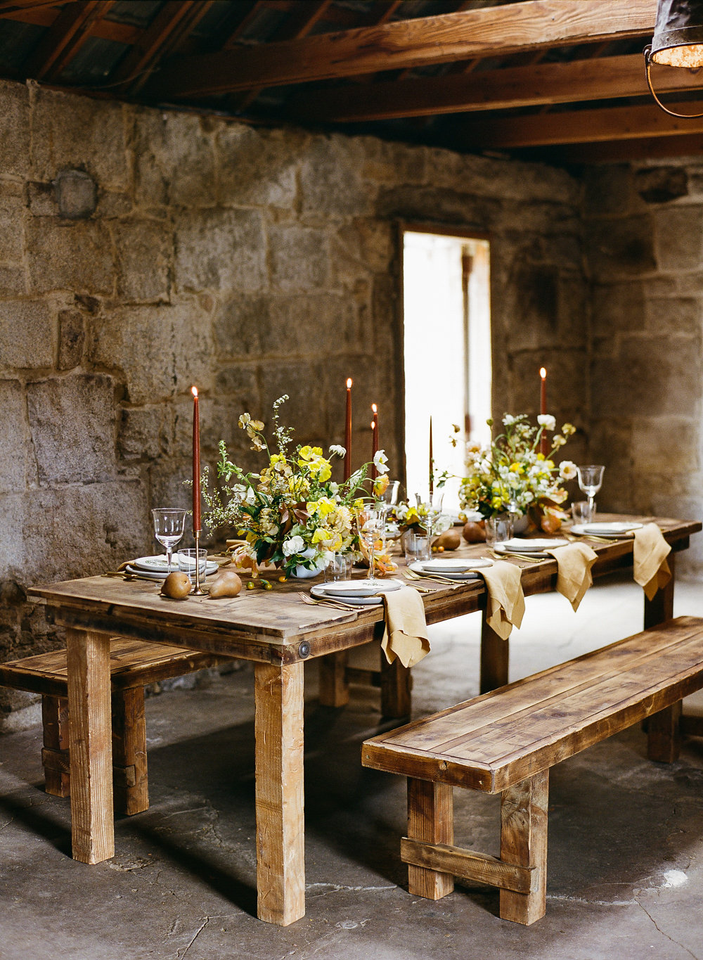rustic wedding inspiration - photo by Taken by Sarah Photography http://ruffledblog.com/intimate-rustic-chic-wedding-inspiration