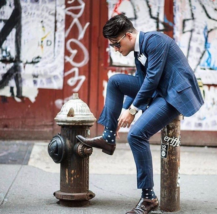 how to wear monk strap shoes for men (12)
