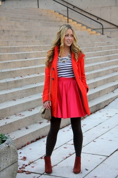 how to wear hot pink skirts (30)