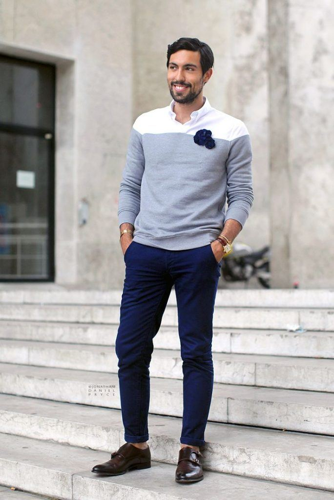 how to wear monk strap shoes for men (28)