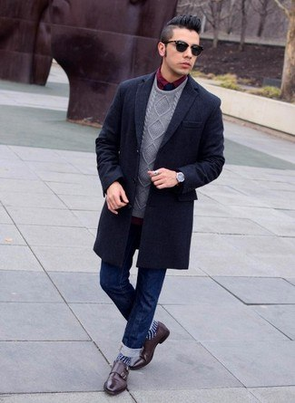 how to wear monk strap shoes for men (27)