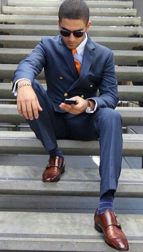 how to wear monk strap shoes for men (6)