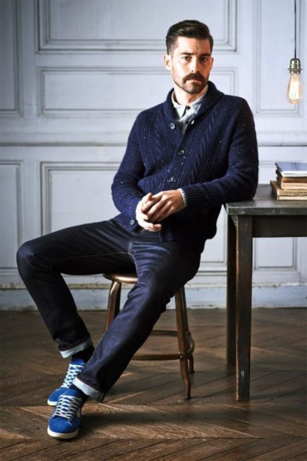 how to wear blue jeans for men (15)