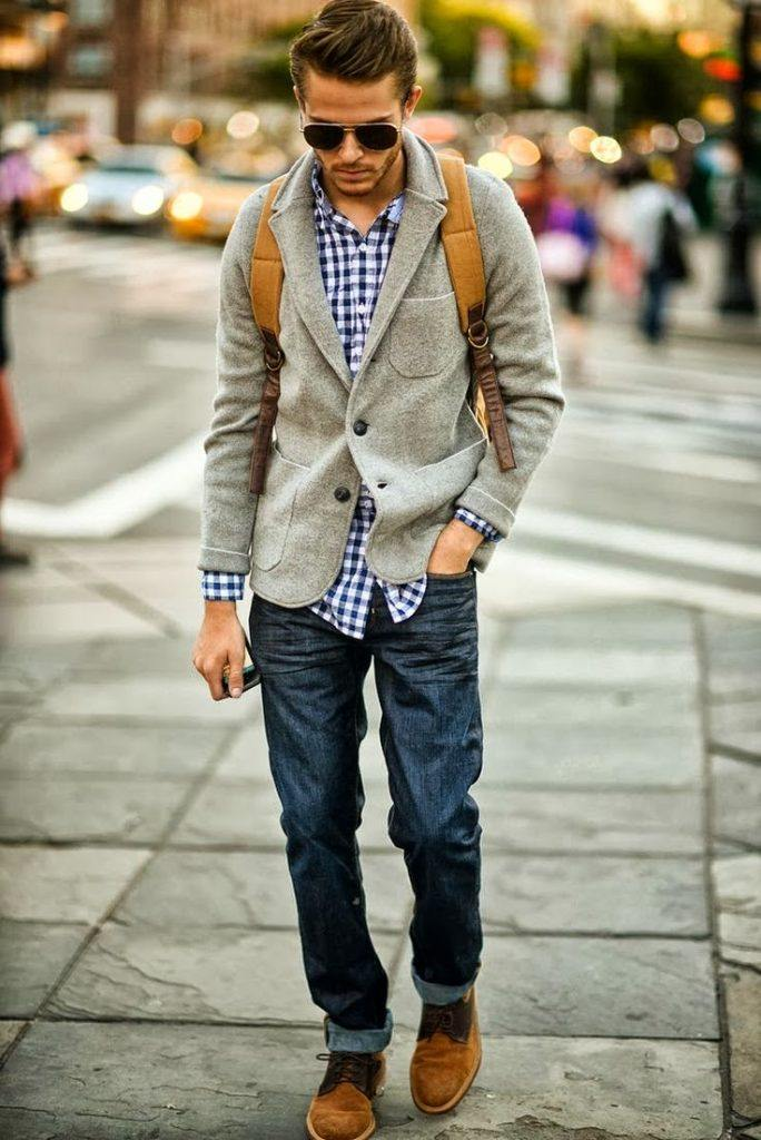 how to wear blue jeans for men (7)