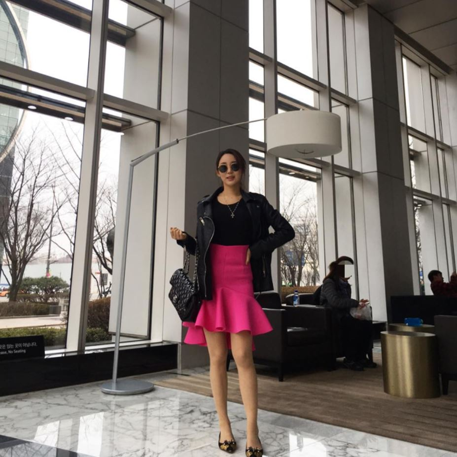 how to wear hot pink skirts (20)