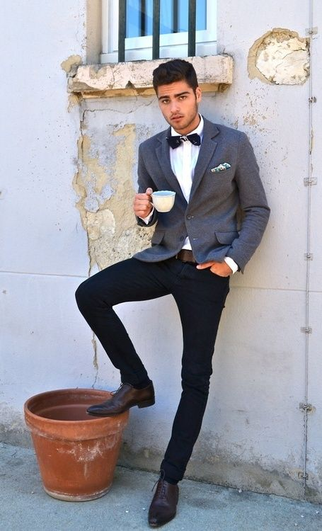 how to wear blue jeans for men (10)
